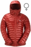 Arete Hooded Jacket Women's Vintage Red