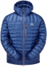Arete Hooded Jacket Cobalt