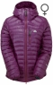 Arete Hooded Jacket Women's Foxglove