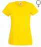 High Sport T-shirt Lady Fit Yellow