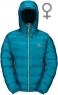Xero Hooded Jacket Womens Enamel Blue