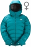 Lightline Jacket Woman Kingfisher