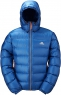 Xero Hooded Jacket Light Ocean