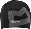 Branded Knitted Beanie Black