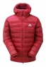 Skyline Hooded Jacket Barbados Red